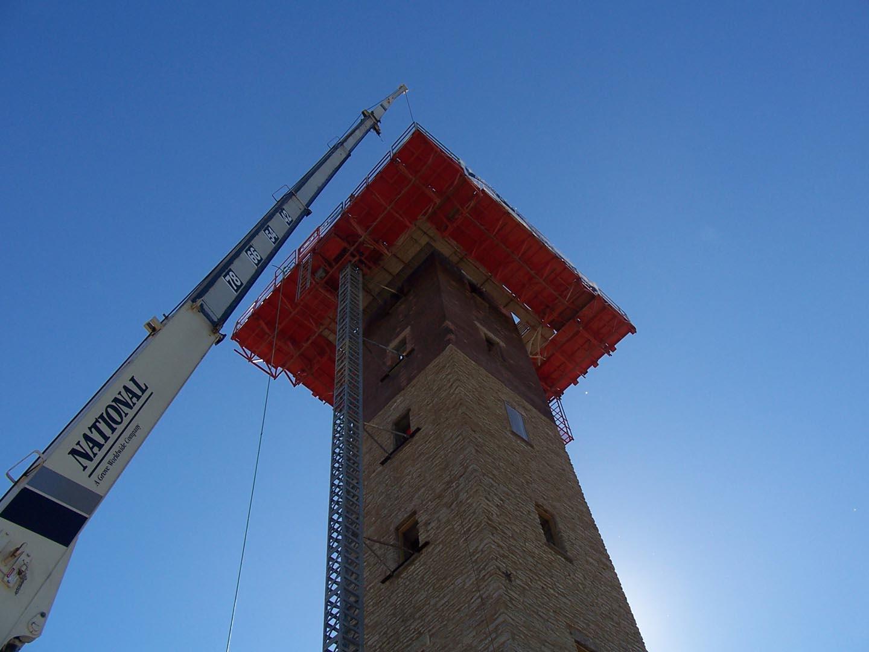 EZ Single Mast Climber Best for Shafts 2