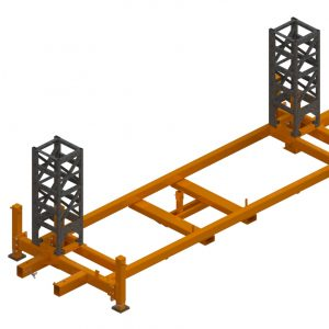 Twin Mast Climber, Base Assembly