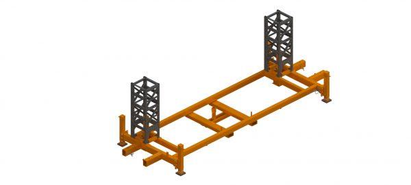 Twin Mast Climber, Base Assembly 1