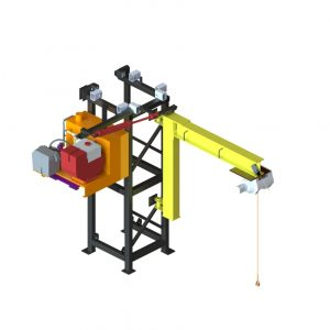 Single Mast Climber, Hoist Assembly
