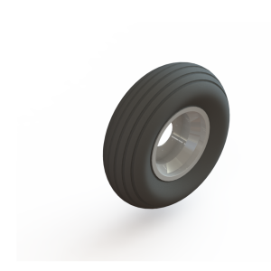 Mast Climber Wheel w/Tire