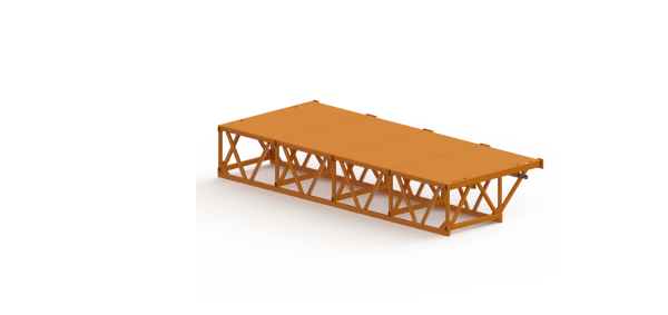 16ft Cantilever Extension Deck 1