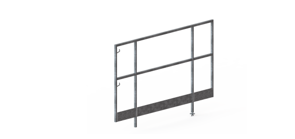 6ft End Guard Panel 1