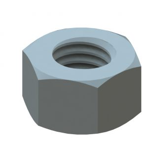 ½-13 Hex Finish Nut