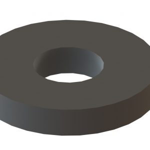 "9/16"" X 1½"" X ¼"" Thick Flat Washer"