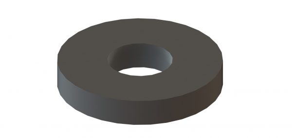 "9/16"" X 1½"" X ¼"" Thick Flat Washer 1"