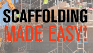 Scaffolding Made Easy!
